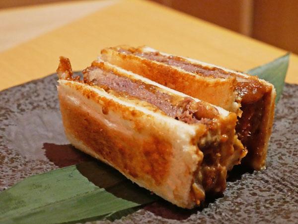 近江うし焼肉 にくTATSU銀座店 タンカツサンド 限定 ブログ レポート