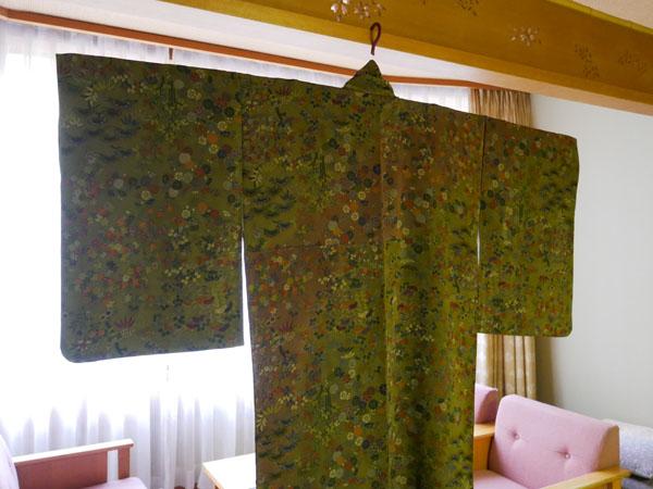 水上温泉 群馬 ホテル みなかみホテルジュラクで着物を着てみた