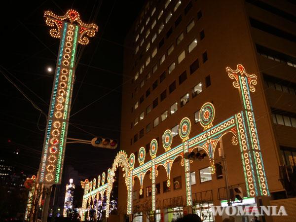 神戸 ルミナリエ 第一回目の作品 ブログ レポート