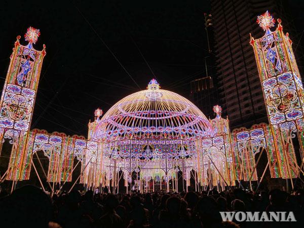 神戸 ルミナリエ 東遊園地 ブログ レポート
