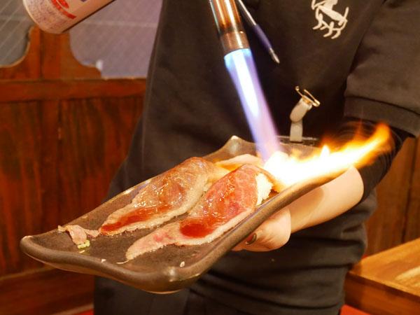 神戸三宮肉寿司 口コミ 和牛とろカルビ