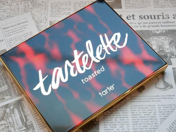 tarte コスメ アイシャドウパレット レポート ブログ