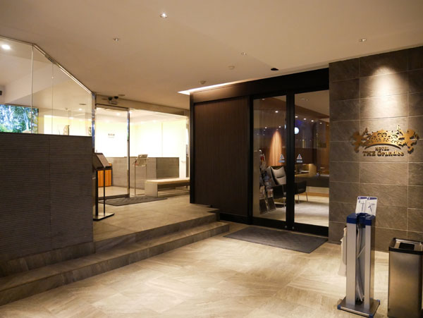 HOTEL THE Grandee(ホテル ザ グランデ)心斎橋 宿泊レポート ラウンジ