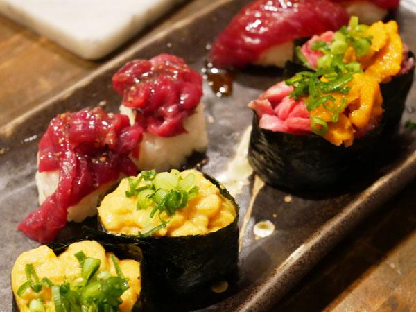 裏天王寺 肉寿司 口コミ ブログ レポート 肉寿司