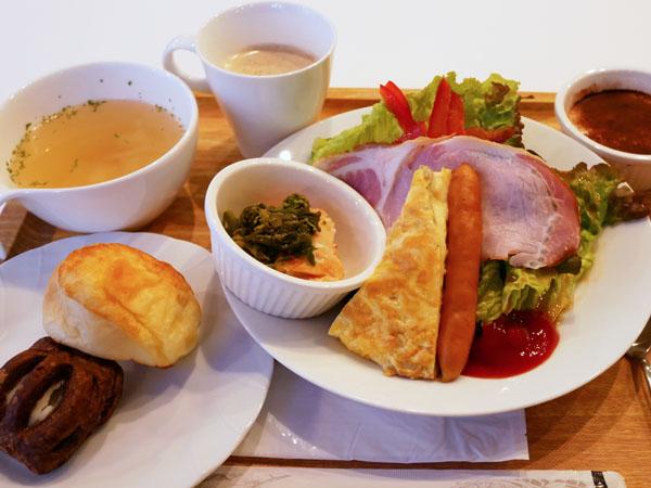 HOTEL THE Grandee(ホテル ザ グランデ)心斎橋 宿泊レポート 朝食