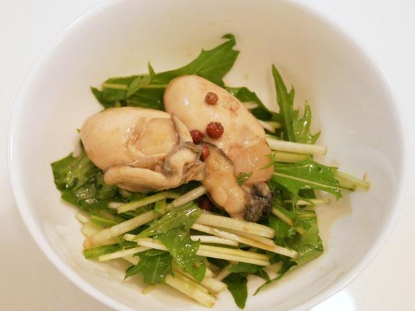 銀座名店のお惣菜 お取り寄せ 魚勝 牡蠣の山椒オイル煮