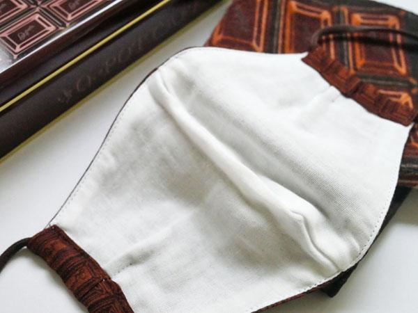 Q-pot.(キューポット) 布マスク 内側のガーゼ