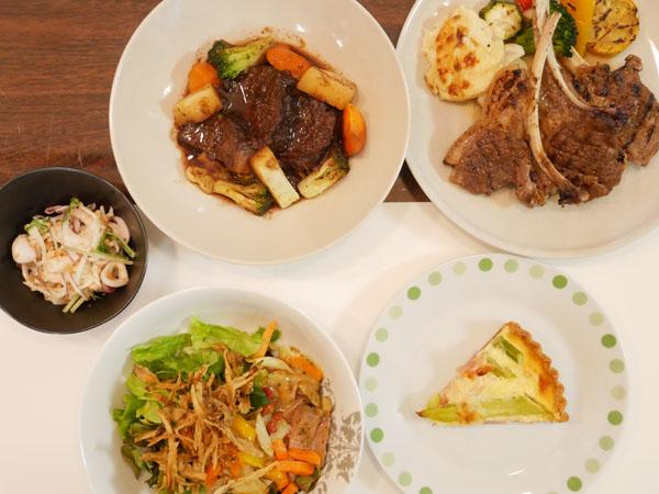 外苑前 テイクアウト サバティーニ青山 夕食