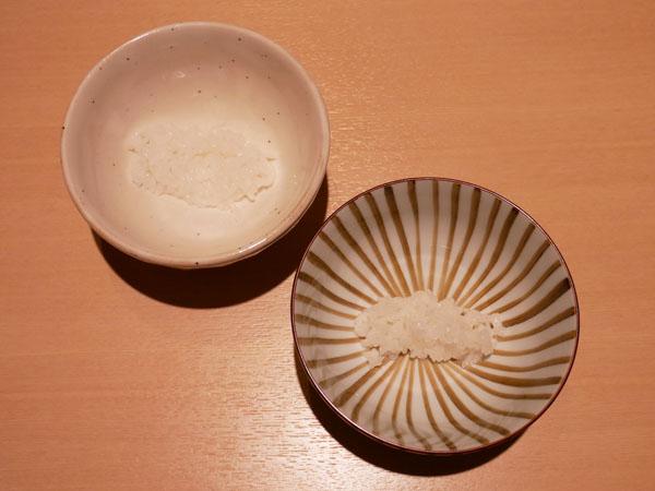 銀座 和食 結絆(ゆいな) 日本一の朝ごはん ごはんの食べ比べ