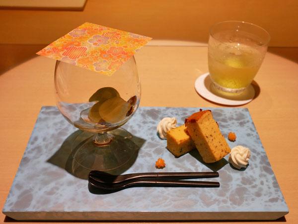 銀座 和食 結絆(ゆいな) 日本一の朝ごはん 結絆 デザート